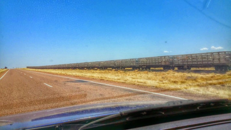 Outback train
