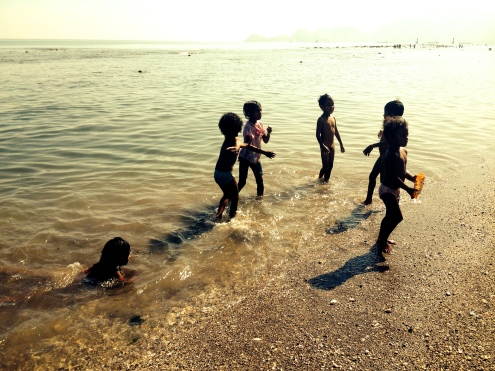 Freedom of swimming in Dili