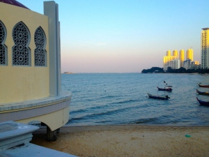 The floating mosque, Penang