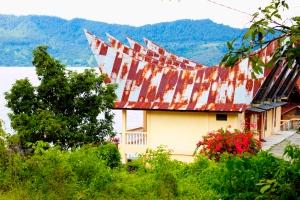 Traditional Batak houses