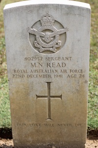 War Cemetery. Saddened by these graves of Aussies far from home
