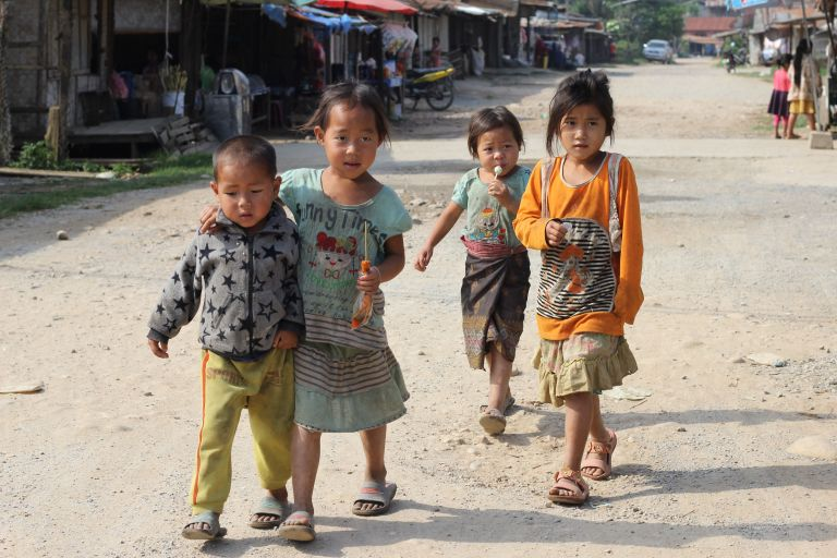 Thesechildren did not run away!